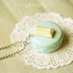 Food Jewelry - Macaron Necklace