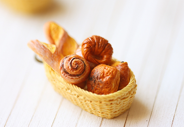 Basket Of French Bread
